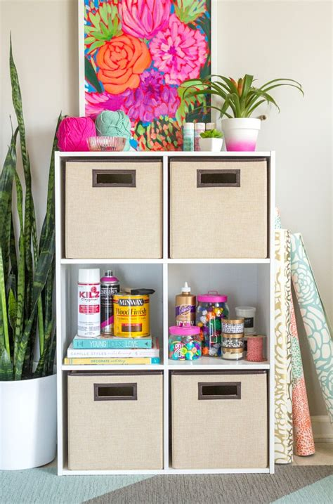 How To Organize Your Craft Room Storage  Indie Crafts