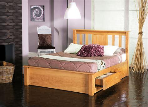 bed drawers double frame wooden 6ft oak inc madison 5ft beds vest vesta furniture limelight veneer solid 4ft frames carpets