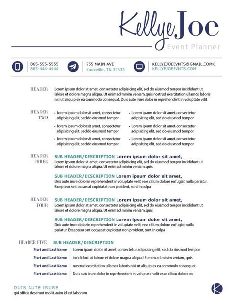 Functional Resume Event Planning by 17 Best Images About Resumes On