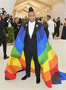 Lena Waithe39s Rainbow Flag Tuxedo At Met Gala Was Slap In