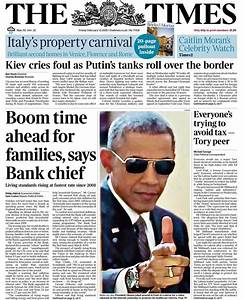 Tomorrow's Papers Today — Friday's Times front page: Boom ...