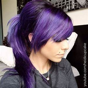 19 best images about saçlar on Pinterest | Scene hair, Pink blue and Bang hair