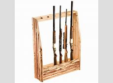 Rush Creek™ Log 6 Gun Rack with Storage 143364, Gun