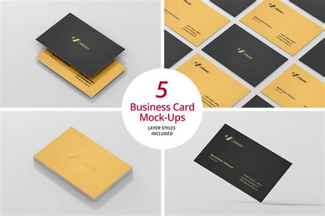 staple business card to resume business card mock ups product mockups on creative market