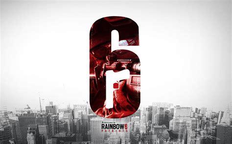 siege but rainbow six siege logo wallpaper