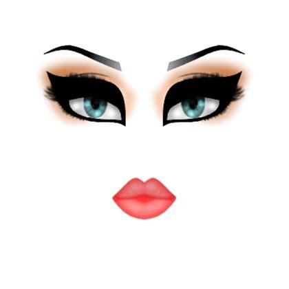 Eerie Makeup Basic Face Roblox