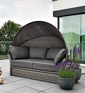Polyrattan Lounge Grau : sonneninsel polyrattan grau im greenbop online shop kaufen ~ Indierocktalk.com Haus und Dekorationen