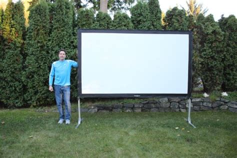Visual Apex Projectoscreen120hd Portable Movie Theater