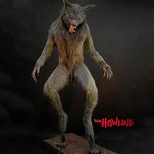 Lifesize Howling Werewolf Statue The Green Head