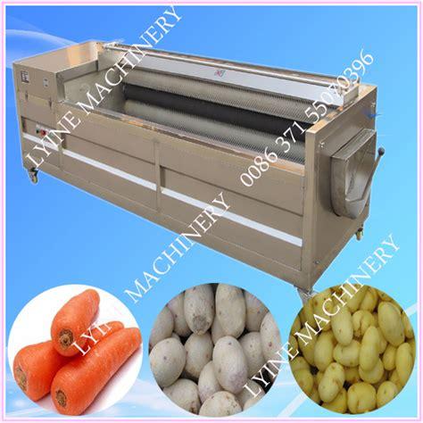 carotte pomme de terre peeling machine manioc peeling et