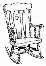 Rocking Chair Illustration Illustrations Vector Clip Clipart Porch Swing Line Istock Gettyimages Royalty Cartoons sketch template