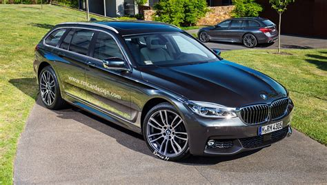 Bmw 5 Series Sedan Photo by 2017 Bmw 5 Series Sedan And Touring Wagon Rendered
