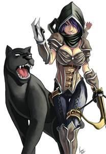 Anime Female Demon Hunter