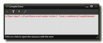 Compile Error Errors Code Compiler Example Source