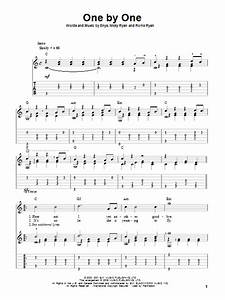 One By One : one by one sheet music direct ~ Medecine-chirurgie-esthetiques.com Avis de Voitures