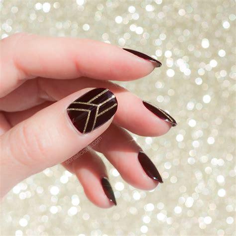 art deco nail art sonailicious