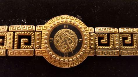 d64873d60b5 ... Versace Suisse Bracelet Medusa Gianni Versace Vintage Quartz Plaque Or  G20 7009018 Catawiki the best attitude ...