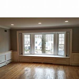 Hanging Curtains Over Hot Water Baseboard Heaters