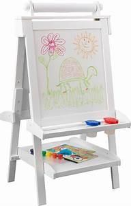 Tableau Enfant Bois : chevalet de dessin en bois tableau et ardoise ~ Teatrodelosmanantiales.com Idées de Décoration