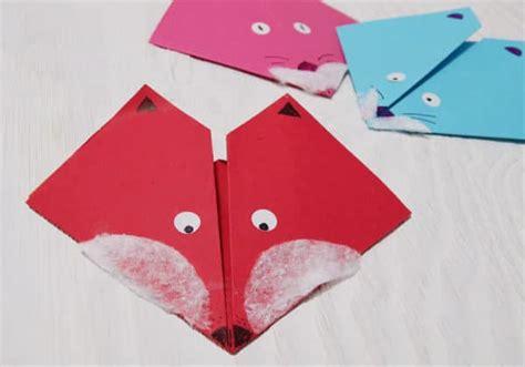 origami fuchs anleitung origami fuchs basteln handmade kultur