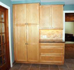kitchen pantry cabinet furniture brenner remodeling kitchen gallery 7