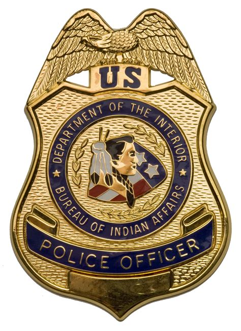 federal bureau of indian affairs file bia officer badge jpg
