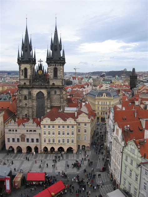 Tyn Cathedral Prague Attractions