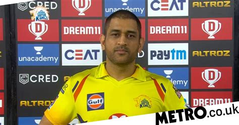 IPL 2020: Chennai captain MS Dhoni reacts to embarrassing ...
