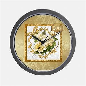 50th anniversary 50th anniversary clocks 50th With 50th wedding anniversary clock