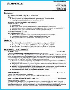 Great Sample Resume Arranging A Great Attorney Resume Sample