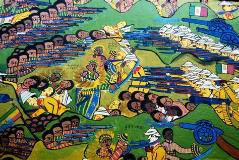 Battle of Adwa Painting