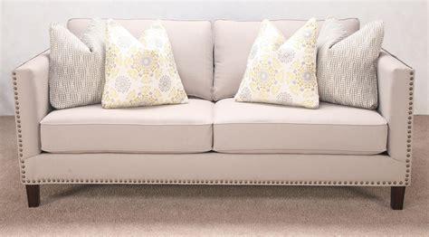sectional sofa with nailhead trim sofa with nailheads fusion furniture 2820 traditional sofa