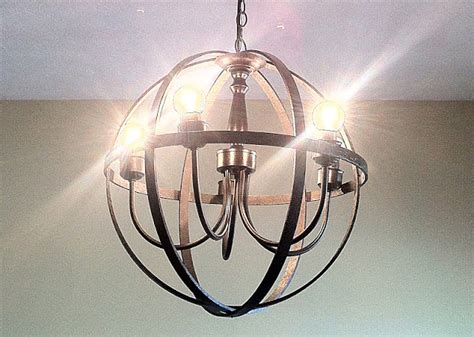 Orb Chandelier Diy by Ador Orb Chandelier Diy