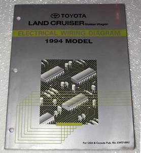 1994 Toyota Land Cruiser Electrical Wiring Diagram  Fzj80