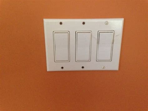 3 switch light switch adding one dimmer to 3 panel light switch