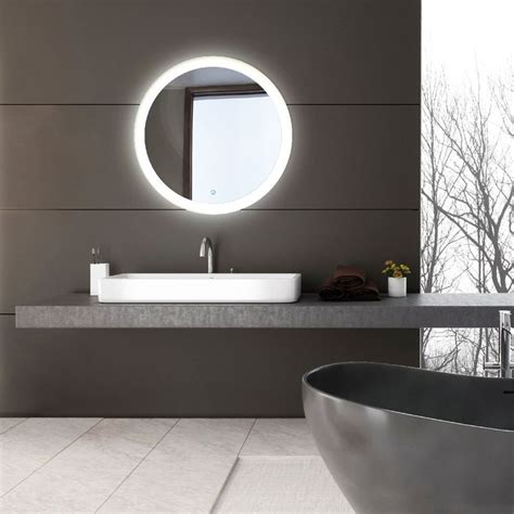 Bathroom Mirror Cost by Led Bathroom Vanity Mirror Bathroom Ideas In 2019 Led