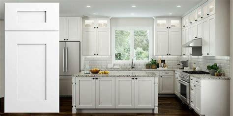 wood rta  transitional shaker kitchen cabinets