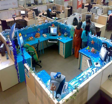 decorated cubicles  summer cubiclesdecor decorated