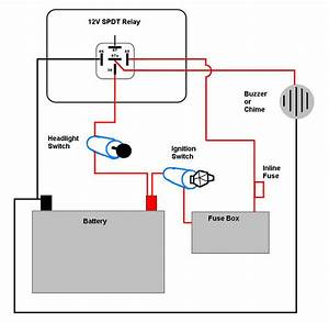 Motorcycle Headlight With Single Spdt Relay   Repository