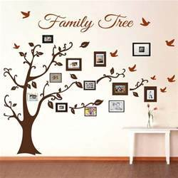 Picture frame family tree wall art decals trendy