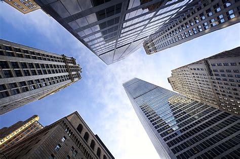 cities    skyscrapers worldatlascom