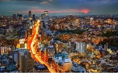 Japan Tokyo Architecture Pc Mobile 2k