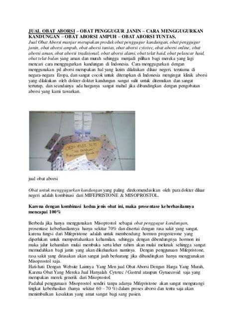 Cara Aman Aborsi 5 Bulan Jual Obat Aborsi Batam 082243627277 Obat Penggugur Kandungan
