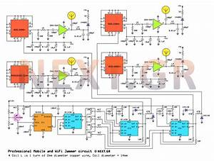 Mobile Signal Jammer Circuit Diagram