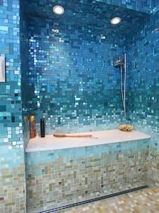 34, Wondrous, Mermaid, Shower, Tiles, Designs, Ideas, For, Bathroom