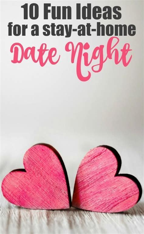Fun Date Night Ideas at Home