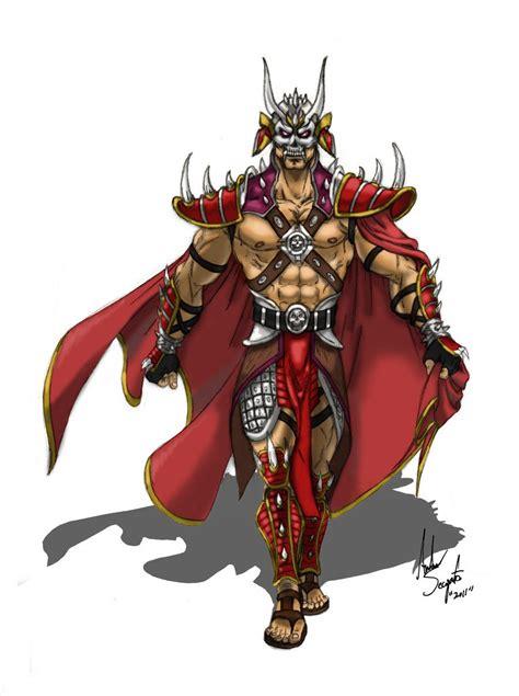 Ominous Emperor Shao Kahn | Mortal kombat art, Mortal ...