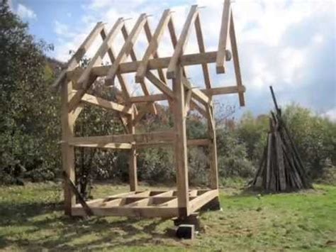hawk circle small timber frame youtube