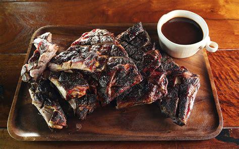 spice smoked lamb ribs recipe barbecuebiblecom