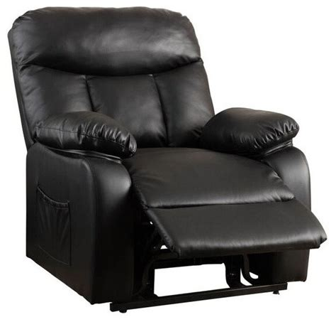 edenton leather lift up recliner chair contemporary